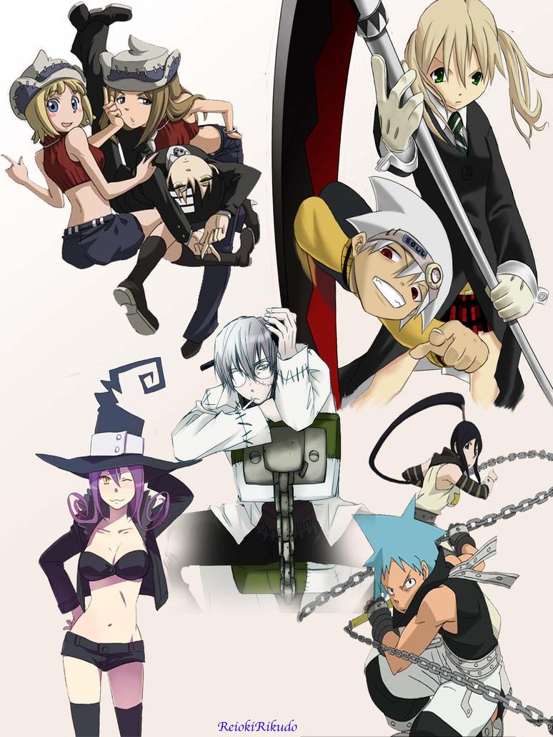 Soul Eater Collage by ReiokiRikudo