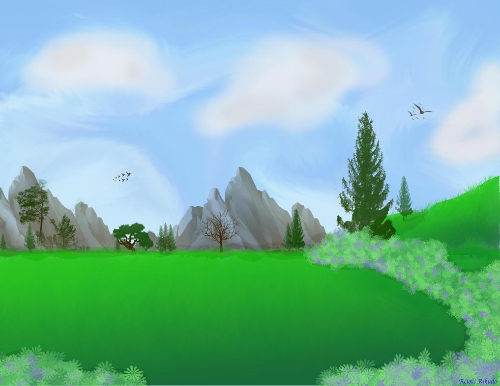 Peaceful Valley by ReiokiRikudo