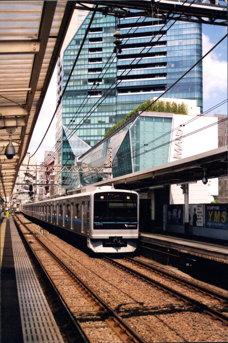 Train in Tokyo by Noniway