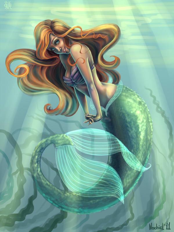 Little Mermaid Ariel by Nochiel