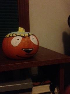 Cartman the Pumpkin by Nerdy-Cactus-Queen