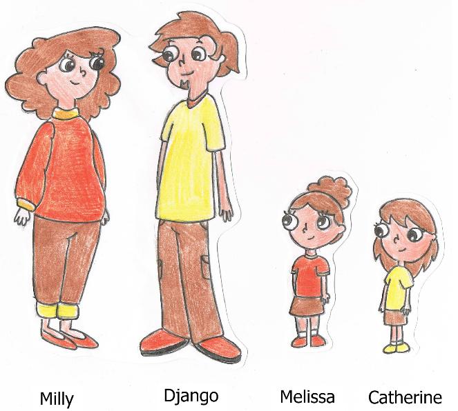 Django and Milly's Family by NerdyPig123 on DeviantArt