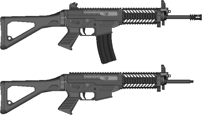 SG556 Patrol v1.5 by TunaPlatinum