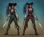Pirate Lady Design