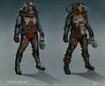 Space suit designs