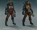 Space suit designs