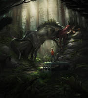 Creature in the Woods by anthon500