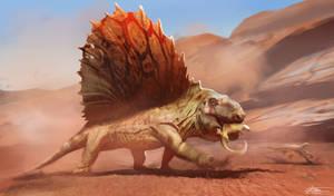 Dimetrodon Grandis