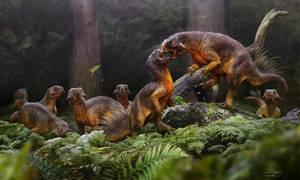 Psittacosaurus mating rivalry