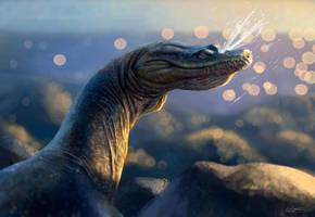 A Sneezing Nothosaurus