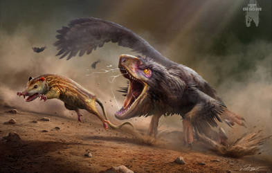 Commission: 'Escape from the Cretaceous' Version 1