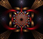 Tube Tile Weave X1-B by Acridx
