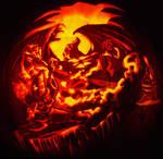 Mickey vs Chernabog carving
