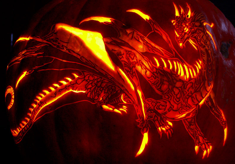 Dark dsurion pumpkin carving by noeldickover on deviantart