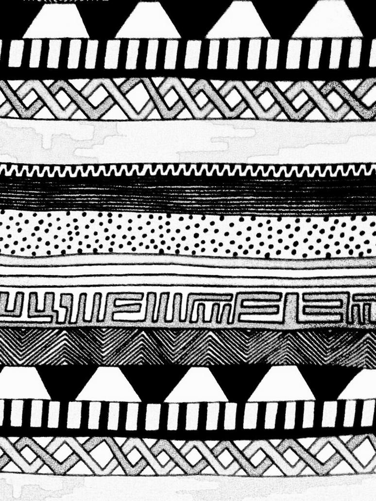 aztec pattern by nubiramaist on DeviantArt