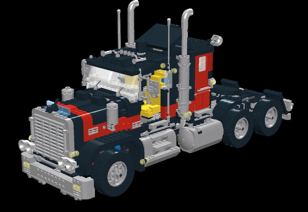 Lego Black Cat Truck By Ryanthescooterguy On Deviantart