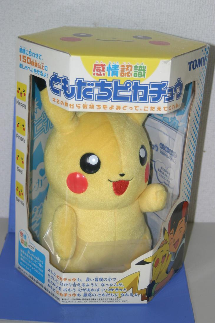Tomy Talking Pikachu Plush by ryanthescooterguy