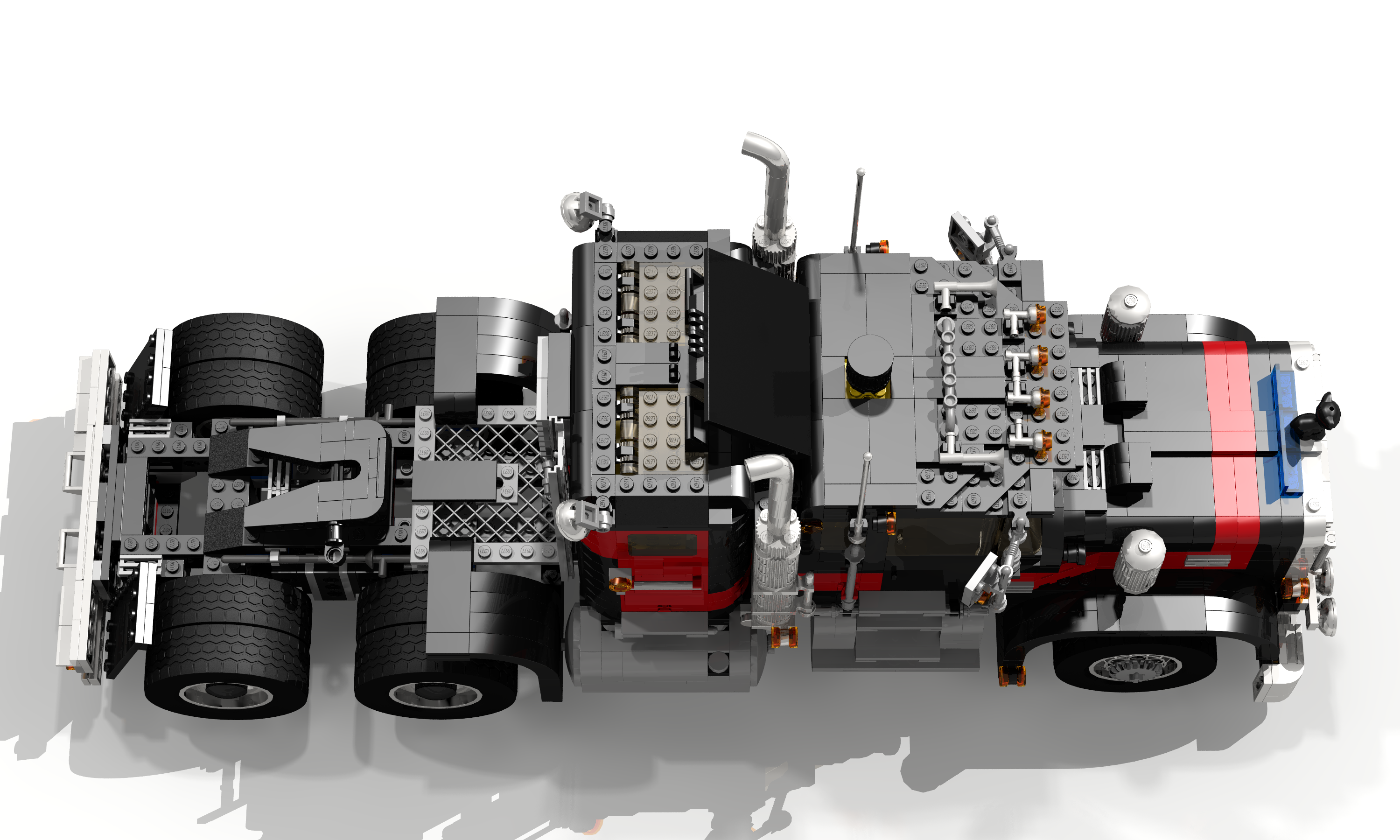 5571 Black Cat Giant Truck Legacy Version By Ryanthescooterguy On