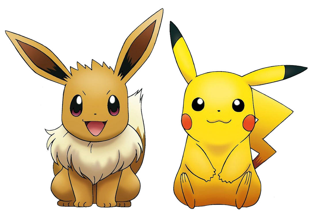 The gallery for --> Eevee And Pikachu Gif