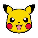 Pokemon Link: Battle! - Pikachu Icon by ryanthescooterguy