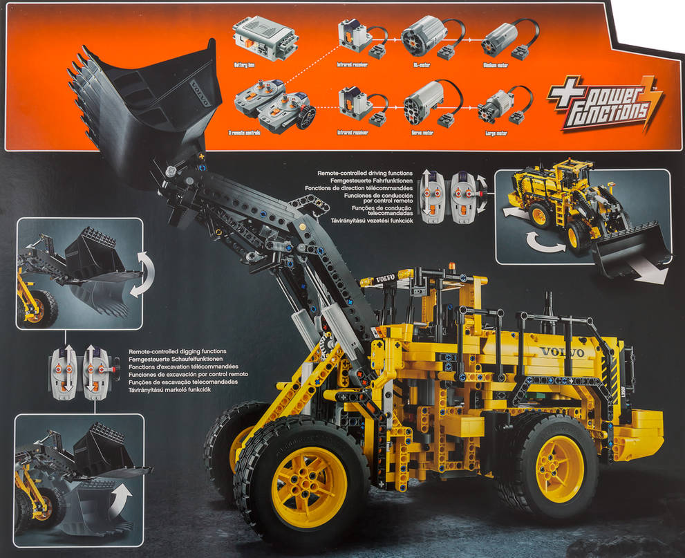 Beste LEGO Technic 42030 Volvo L350F Front End Loader by PJ-53
