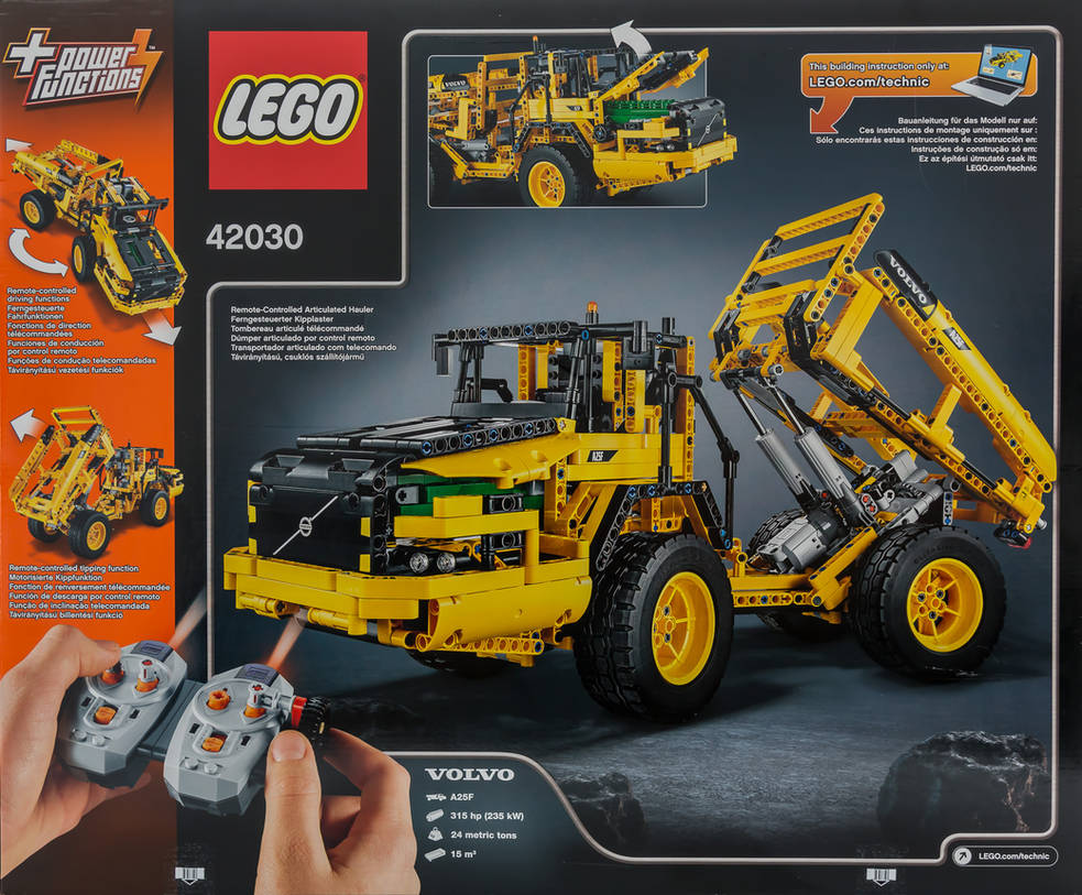 Verbazingwekkend LEGO Technic 42030 Volvo L350F Front End Loader by SQ-67