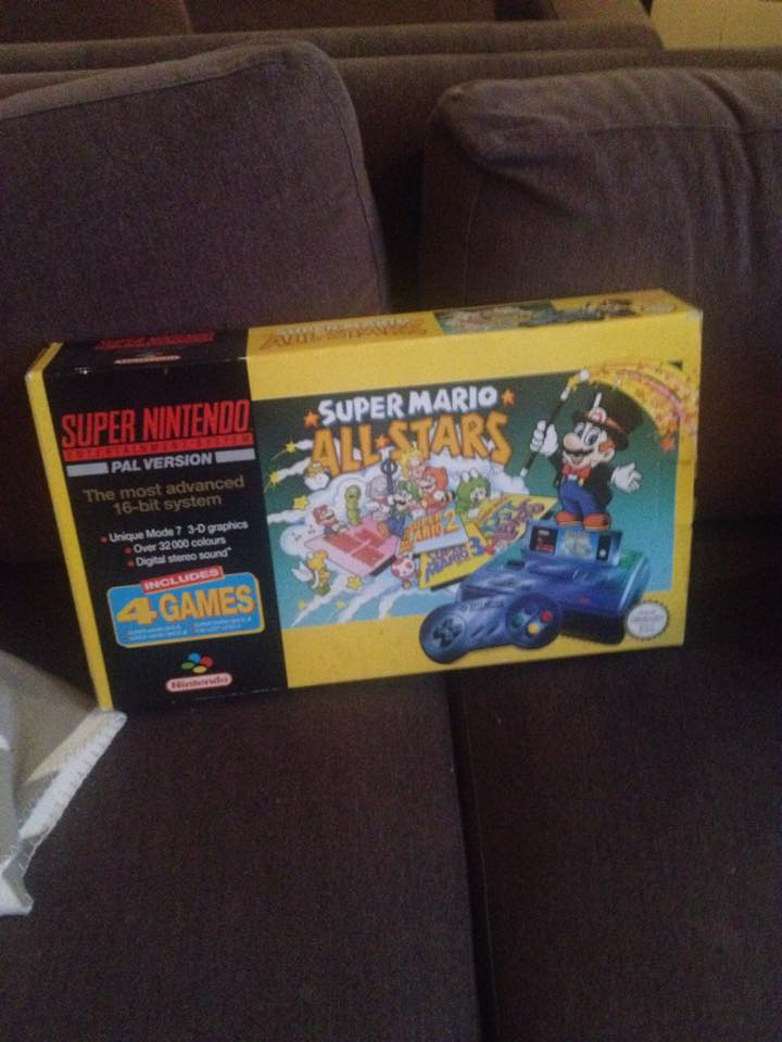 SNES Box by ryanthescooterguy