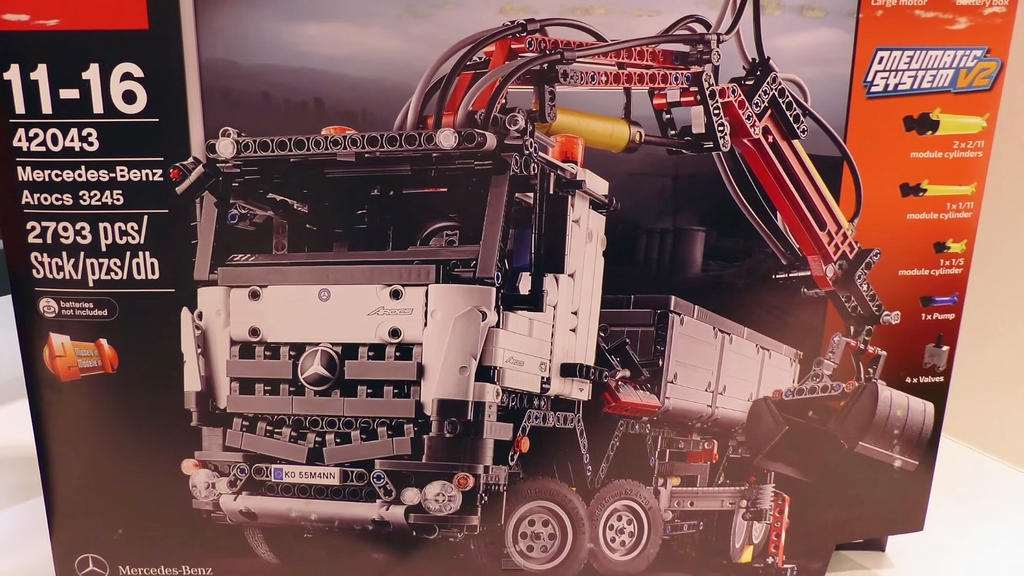 Lego technic 42043 mercedes benz arocs 3245 by for Lego technic 42043 mercedes benz arocs 3245 truck