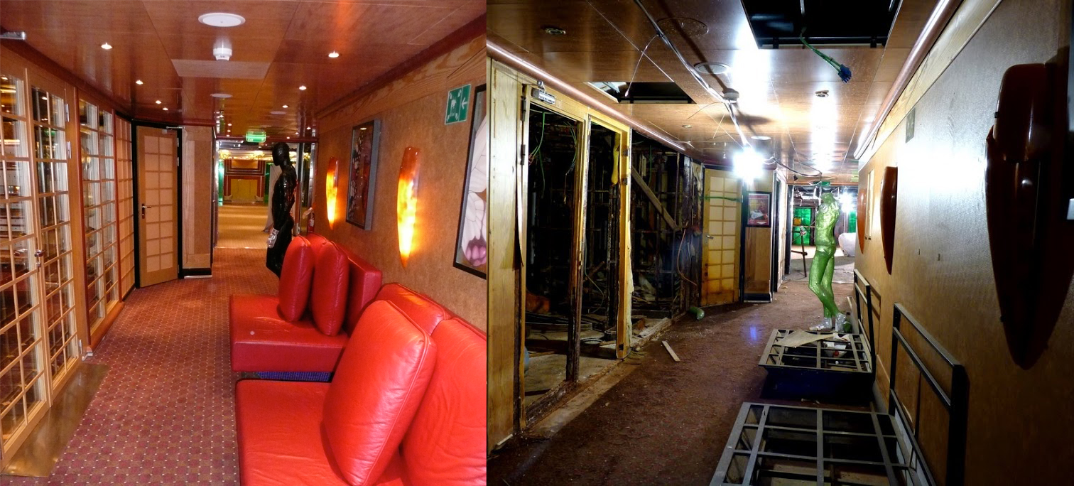 Costa Concordia - Before and After the Sinking by ryanthescooterguy ...
