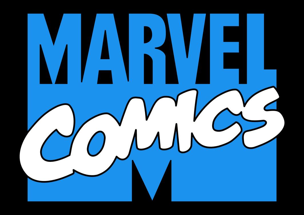1980s/90s Marvel Comics Logo (blue/white) by ...