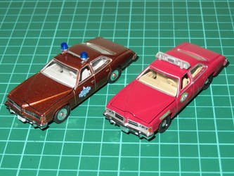 Greenlight 1:64 Pontiac Le Mans Police Cars by ryanthescooterguy