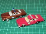 Greenlight 1:64 Pontiac Le Mans Police Cars