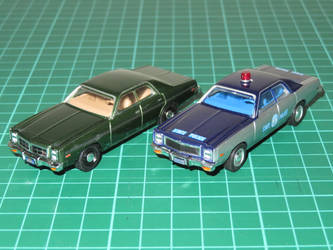 Greenlight 1:64 Dodge Monaco and Plymouth Fury by ryanthescooterguy