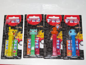 Pokemon PEZ Dispensers! by ryanthescooterguy