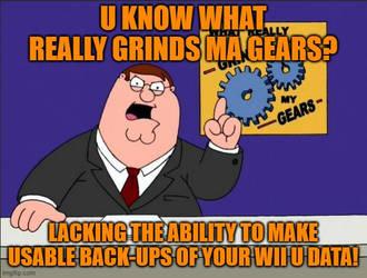 Grinds My Gears - Wii U