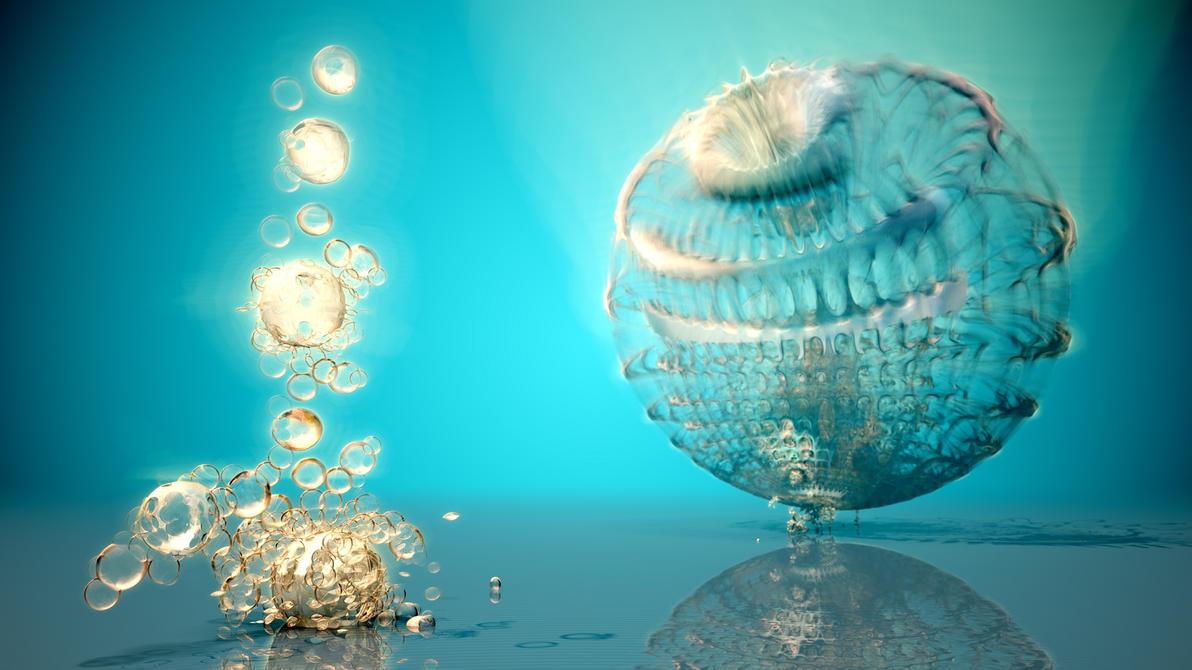 Mandelbulb sphere by Crist-JRoger