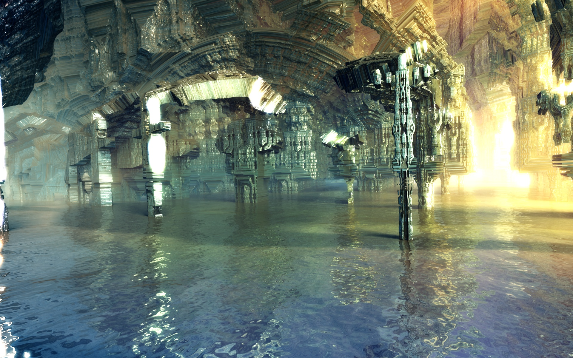 Dwemer ruins by Crist-JRoger