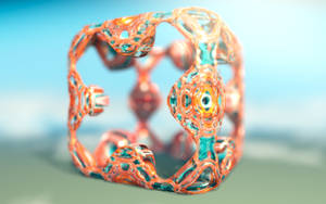 Textured smooth menger by C-JR