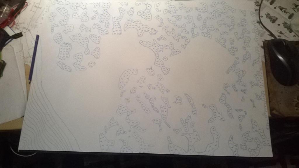 Map of Hirsch-Gaelen (step 2) by Mattilald