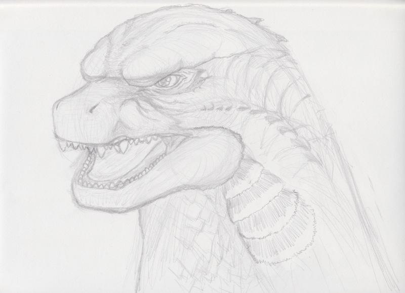 Godzilla 2014 Sketch by KyeroDiNelma2014Godzilla 2014 Sketch