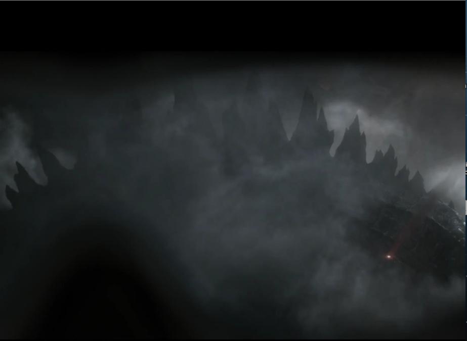 Godzilla's size compared to a human by KyeroDiNelma2014