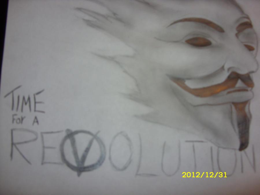 V For Vendetta Sketch v for vendetta propaganda