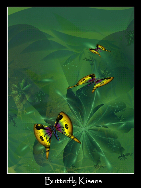 Butterfly Kisses by sharkrey