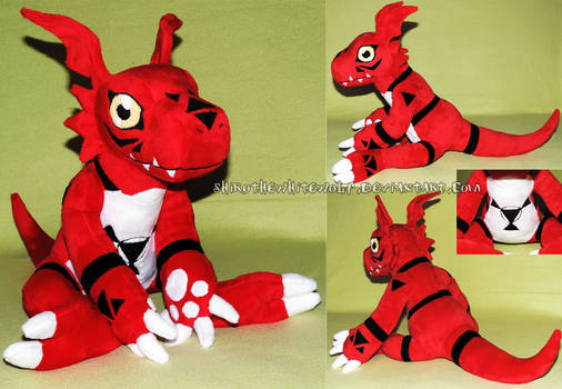 Guilmon plush