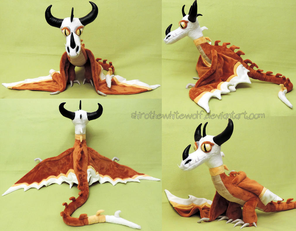 [PLUSHIE] Torch the Typhoomerang by ShiroTheWhiteWolf on ...
