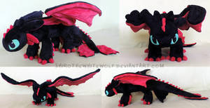 [PLUSHIE] Tao (Night Fury)