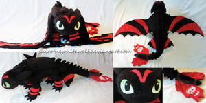 [PLUSH] Racing Stripes Toothless