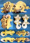 [PLUSH] Smaug and Misu geckos