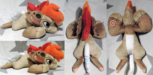 [PLUSH/BAGBEAN] Nick Bagbeanie by ShiroTheWhiteWolf