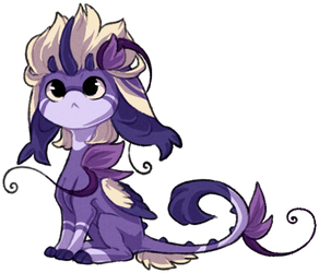 Impling 001 - Derpy Purple by ShiroTheWhiteWolf